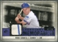 2008 Upper Deck SP Legendary Cuts Legendary Memorabilia Violet Parallel #SA Ron Santo /50