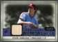 2008 Upper Deck SP Legendary Cuts Legendary Memorabilia Violet Parallel #ST Steve Carlton /50