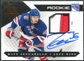 2010/11 Panini Luxury Suite #143 Mats Zuccarello Rookie Autograph Patch /299