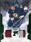 2011/12 Upper Deck Artifacts Jerseys Patch Emerald #25 Chris Stewart /65