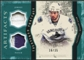 2011/12 Upper Deck Artifacts Treasured Swatches Jerseys Patches Emerald #TSRK Ryan Kesler /35