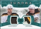 2011/12 Upper Deck Artifacts Tundra Tandems Patches Emerald #TT2HK Nathan Horton / David Krejci /50