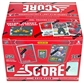 2013/14 Score Hockey Jumbo 12-Box Case