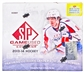 2013-14 Upper Deck SP Game Used Hockey Hobby Box