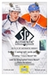 2013-14 Upper Deck SP Authentic Hockey Hobby Box