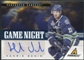 2011/12 Panini Pinnacle Game Night Signatures #37 Henrik Sedin Autograph