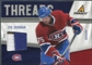 2011/12 Panini Pinnacle Threads Prime #90 P.K. Subban /50