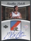 2004/05 Exquisite Collection #71 Lionel Chalmers Rookie Patch Auto #204/225