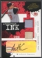 2005 Absolute Memorabilia #73 Austin Kearns Absolutely Ink Bat Jersey Auto #17/50