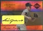 2005 Leaf Limited #19 Luis Aparicio Limited Legends Signature Auto #44/50