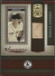 2005 Donruss Greats #5 Dwight Evans Souvenirs Material Bat