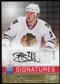 2008/09 Upper Deck Be A Player Signatures Player's Club #SSE Brent Seabrook Autograph 4/15