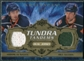 2008/09 Upper Deck Artifacts Tundra Tandems Gold #TTGS Bill Guerin Miroslav Satan /25