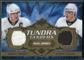 2008/09 Upper Deck Artifacts Tundra Tandems Bronze #TTCM Sidney Crosby Evgeni Malkin /75
