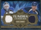 2008/09 Upper Deck Artifacts Tundra Tandems Bronze #TTTL Manny Legace Keith Tkachuk /75