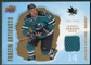 2008/09 Upper Deck Artifacts Frozen Artifacts Retail #FAJO Jonathan Cheechoo