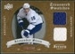 2008/09 Upper Deck Artifacts Treasured Swatches Dual #TSDAS Alexander Steen /199