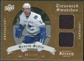 2008/09 Upper Deck Artifacts Treasured Swatches Dual #TSDHS Henrik Sedin /199