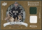 2008/09 Upper Deck Artifacts Treasured Swatches Dual #TSDMT Marty Turco /199