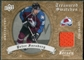 2008/09 Upper Deck Artifacts Treasured Swatches Retail #TSPF Peter Forsberg