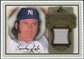 2009 Upper Deck SP Legendary Cuts Legendary Memorabilia Brown #SL Sparky Lyle /50