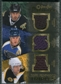 2007/08 Upper Deck OPC Premier Rare Remnants Triples Gold #PTMTK Mike Modano Keith Tkachuk Phil Kessel /35