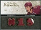 2007/08 Upper Deck OPC Premier Remnants Triples Patches #PRSD Shane Doan /35