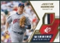 2009 Upper Deck SPx Winning Materials Patch #WMJM Justin Morneau /99
