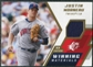 2009 Upper Deck SPx Winning Materials #WMJM Justin Morneau