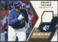 2009 Upper Deck SPx Winning Materials #WMPF Prince Fielder