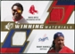 2009 Upper Deck SPx Winning Materials Dual #RO David Ortiz Manny Ramirez