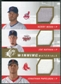 2009 Upper Deck SPx Winning Materials Triple #WNP Kerry Wood Joe Nathan Jonathan Papelbon