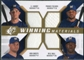 2009 Upper Deck SPx Winning Materials Quad #HFBS J.J. Hardy/Prince Fielder/Bill Hall/Ben Sheets