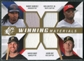 2009 Upper Deck SPx Winning Materials Quad #RGBN Manny Ramirez/Ken Griffey Jr./Jason Bay/Xavier Nady