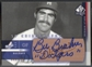 2003 SP Authentic #BB Bill Buckner Chirography Dodgers Stars Bronze Auto #046/100