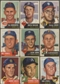 1953 Topps Baseball Lot of 138 Cards (108 Different) VG