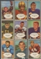 1953 Bowman Football Lot of 38 Cards (37 Different) VG
