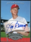 2005 Upper Deck UD Past Time Pennants Signatures Silver #JB Jim Bunning T3 SP