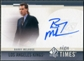 2010/11 Upper Deck SP Authentic Sign of the Times #SOTBM Barry Melrose Autograph