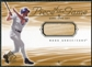 2001 Upper Deck SP Game Bat Edition Piece of the Game #MG Mark Grace