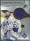 2005/06 Upper Deck SP Game Used Authentic Fabrics #AFEB Ed Belfour