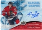 2009/10 Upper Deck Ice Glacial Graphs #GGAE Andrew Ebbett Autograph