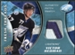 2009/10 Upper Deck Ice Fresh Threads Patches #FTVH Victor Hedman 10/15