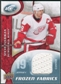 2009/10 Upper Deck Ice Frozen Fabrics #FRSY Steve Yzerman