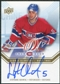 2008/09 Upper Deck Montreal Canadiens Centennial Habs INKS #HABSSQ Stephane Quintal Autograph
