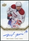 2008/09 Upper Deck Montreal Canadiens Centennial Habs INKS #HABSTP Tomas Plekanec Autograph