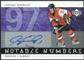 2005/06 Upper Deck Notable Numbers #NJR Jeremy Roenick Autograph /97