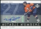 2005/06 Upper Deck Notable Numbers #NMP Michael Peca Autograph /27