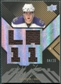 2008/09 Upper Deck UD Black Autographs Jerseys #BAJAK Anze Kopitar 4/25