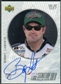1999 Upper Deck Road to the Cup Signature Collection Checkered Flag #BL Bobby Labonte Autograph